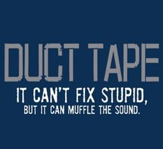 Muffling noise is better than all of the noise. Stupid may not sound so bad when you don't hear it as loud.