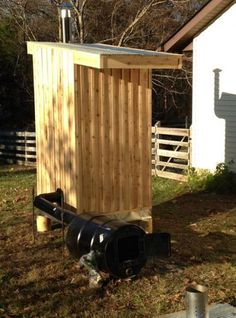 I have always wanted to build a smokehouse on my property. My brother and I finally put our...
