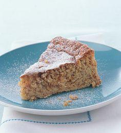 Passover Cardamom Apple Almond Cake
