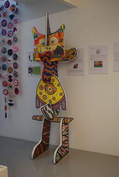 Escultura Mutante Hundertwasser y fichas didácticas.