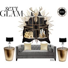 sexy glam project decorate, created by sndrq on Polyvore