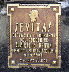 Argentina Buenos Aires Recoleta Evita Grave by Dave Curtis, via Flickr