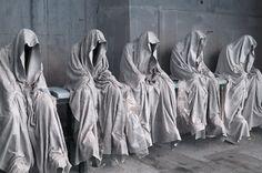 neuromaencer: 'guardians of time' 3D printed sculptures by manfred kielnhofer