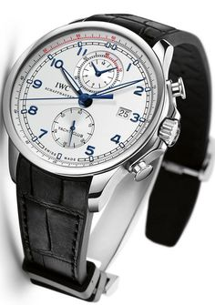 IWC Portuguese Yacht Club Chronograph -Ocean Racer IW390216 Steel on Rubber Strap with Silver Dial 65106