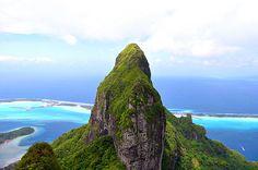 Mount Otemanu on Bora Bora
