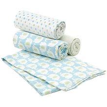 "Carter's 4-Pack Receiving Blanket - Elephant - Kids Line - Babies""R""Us  $21.99"