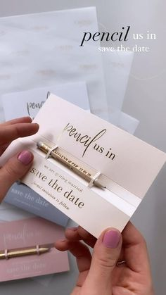 Engraved pencils with Save the Date for wedding 2021 / 2022 Sweet 16 Invitations, Engagement Party Invitations, Beach Wedding Invitations, Save The Date Invitations, Wedding Invitation Wording, Invitation Design, Laser Cut Wedding Stationery, Wedding Centerpieces, Wedding Decorations