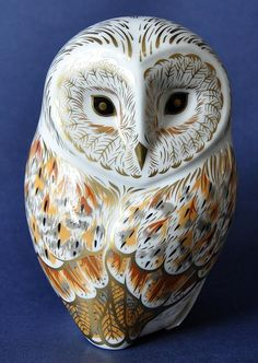 Royal Crown Derby Winter Owl http://www.bwthornton.co.uk/royal-crown-derby.php