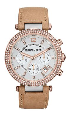 beautiful Michael Kors watch @nordstrom  http://rstyle.me/n/rgq8ipdpe