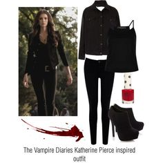 #KatherinePierceStyle  sc 1 st  Pinterest & the vampire diaries costume ideas - Google Search | Vampires ...