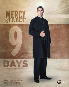 9 sounds divine! Are you as excited as we are to see Luke Macfarlane in Mercy Street beginning January 17? More information here:
