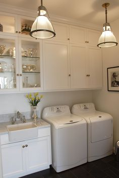 Even the laundry room should be pretty...