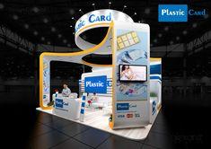 Plastic Card, exhibition stand, exhibition designe on Behance