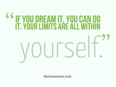 in yourself