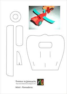 Modello Aereoplano - semplice da fare - da stampare