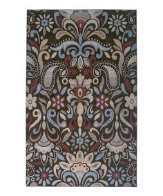 Take a look at this Brown Traditional Rug by Rizzy Home on #zulily today! $38-$159 !!
