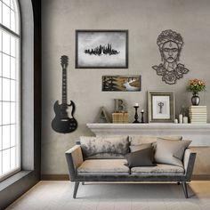 Décoration murale design en métal disponible sur le shop Artwall and Co !