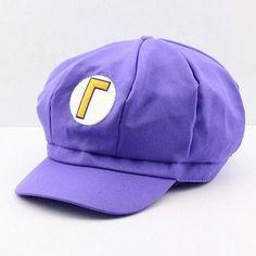 eee8a584960048 Cosplay Super Mario Plush Toy Cotton Caps Luigi Wario Waluigi Hat Holloween  Gift