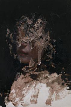 "Juxtapoz Magazine - Watch Now: Henrik Uldalen On His Practice, New Works and the Making of ""Metanoia"" Henrik Uldalen, Applis Photo, Arte Obscura, A Level Art, Renaissance Art, Surreal Art, Portrait Art, Aesthetic Art, Art Inspo"