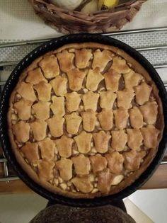 Teljes kiőrlésű almás pite