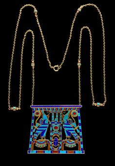 Egyptian Revival Necklace  c.1925  Tadema Gallery