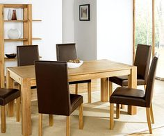 Oak 'Lyon' small end extension dining table - Tables & chairs - Furniture - Home & furniture -