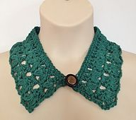 Ravelry: Sunday Morning Collar pattern by eMLee Crochet