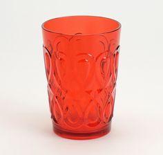 Copo Baixo Deco Vermelho | A Loja do Gato Preto | #alojadogatopreto | #shoponline | referência 22267996
