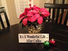 It's a wonderful life . after coffee Funny Coffee, Coffee Humor, Winter Coffee, Sweet Wine, Its A Wonderful Life, Coffee Drinks, Hot Chocolate, Raspberry, Tea