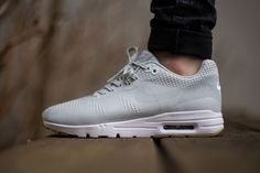 """Nike has come through for the ladies once again, this time with the Nike Air Max 1 Ultra Jacquard """"Grey Mist""""."""