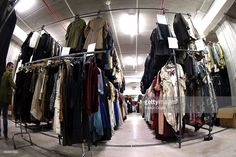 Dresses at the Tirelli deposit of Formello on February 20 2015 in... Foto di attualità | Getty Images