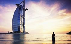 The Burj Al Arab is an INCREDIBLE hotel and an icon of Dubai. Burj Al Arab is also one of the world's most romantic destinations. Photo Courtesy of Jumeirah. Dubai Hotel, Jumeirah Beach Hotel Dubai, Dubai Uae, Visit Dubai, Burj Al Arab, Oh The Places You'll Go, Places To Visit, Travel Around The World, Around The Worlds