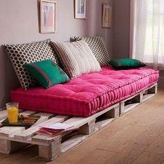 54 super ideas for home furniture couches diy sofa Unique Home Decor, Home Decor Items, Diy Home Decor, Sofa Design, Interior Design, Interior Ideas, Diy Sofa, Deco Design, Home And Deco