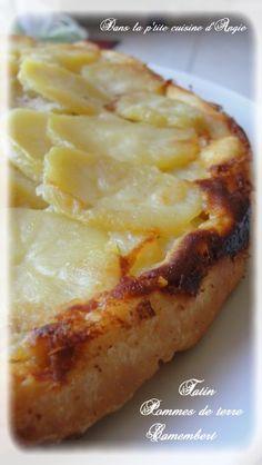 B onjour bonjour ... ! aujourd'hui, je vous propose une recette salée : la tarte tatin pommes de terre
