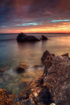 Seascape photography by Marco Crupi #seascape #photography #sunset