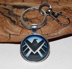 Marvel The Avengers Shield Logo Necklace Pendant jewelry