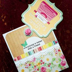 Attach a handwritten library card inside a library-card pocket to get your flirty point across in an unexpected way: http://www.bhg.com/holidays/valentines-day/cards/handmade-valentines-cards/?socsrc=bhgpin020815valentinesdaycard&page=17