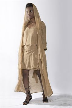 Hooded tunic www.aimmea.com