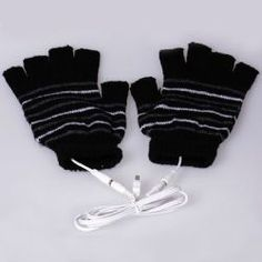 Best Live USB Keep Warm gloves (Black) Black Gloves, Keep Warm, Gifts, Gift Ideas, Favors, Presents, Gift, Gift Tags