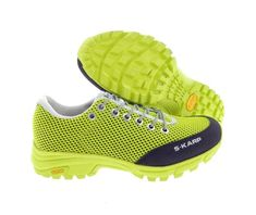 S-KARP Feline, Giallo - Trail Running shoes with Vibram sole Trail Running Shoes, Sketchers, Outdoor Camping, Trekking, Hiking, Urban, Sneakers, Casual, Fashion