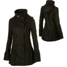 Miss Sixty Women's Sculpted Peacoat | Love this | Pinterest ...