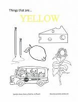 Free printable coloring book for learning colors. One page for ...
