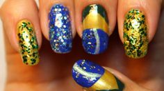 Fifa World Cup Nails Brazil