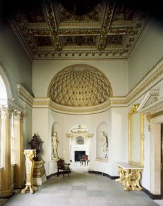 Chiswick House, London. The Gallery.