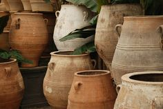 Antique Greek Pitharis - traditional - porch - santa barbara - Eye of the Day