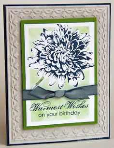 Elaine's Creations: Blooming with Kindness Birthday Card with Tutorial