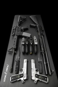 Weapon Buffet by ZORIN DENU, via Flickr