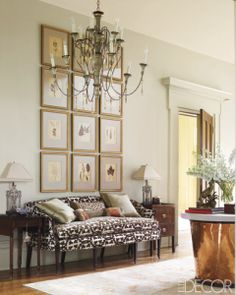 24 ideas on how to decorate tall walls | decorating tall walls