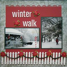 Winter Walk...or Christmas Layout