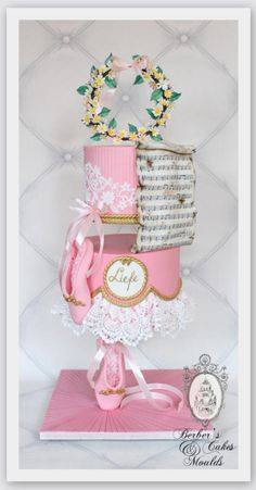 Ballerina Cake / Gravity Defying  by Berber's Cakes & Moulds